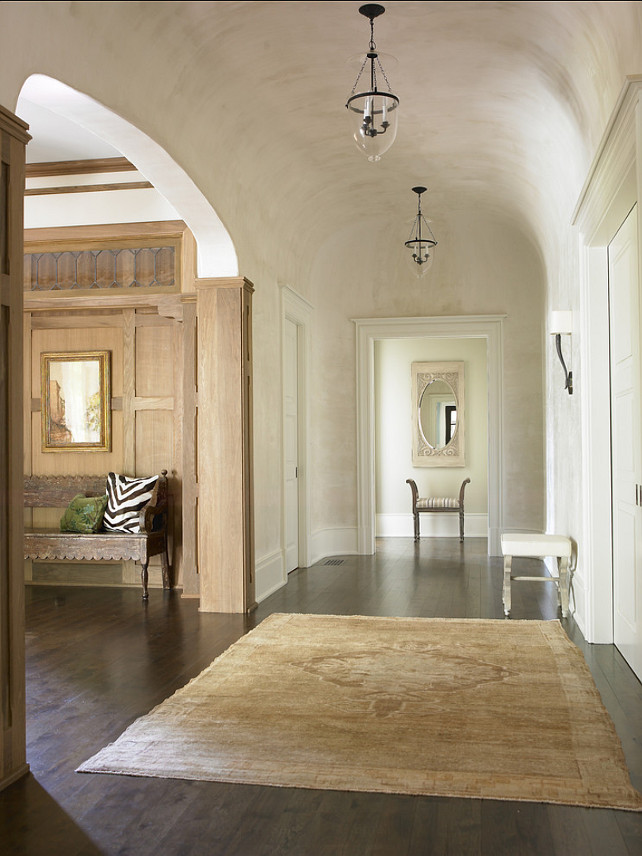 Foyer Plaster Ceiling : Inspiring home with transitional interiors bunch