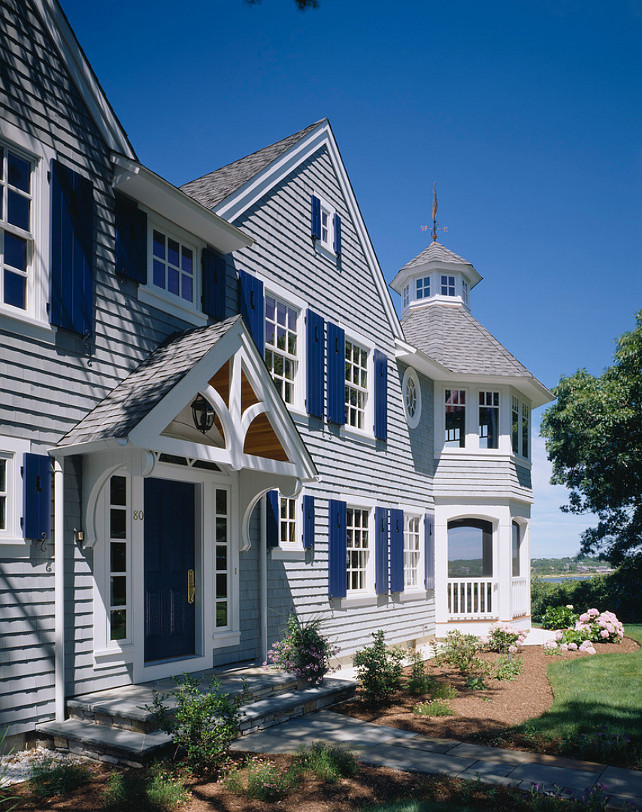 Traditional Shingle House Design #TraditionalShingleHouse #TraditionalShingleHouseDesign Polhemus Savery DaSilva.