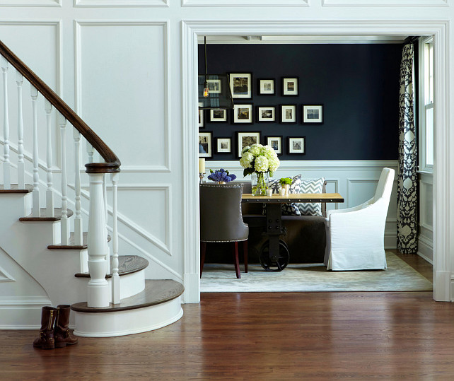 Traditional Home with Transitional Interiors - Home Bunch ...