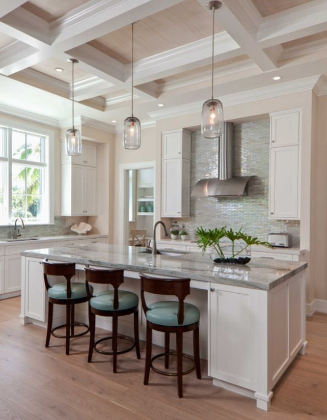 Transitional White Kitchen Cabinets interior design ideas - home bunch – interior design ideas