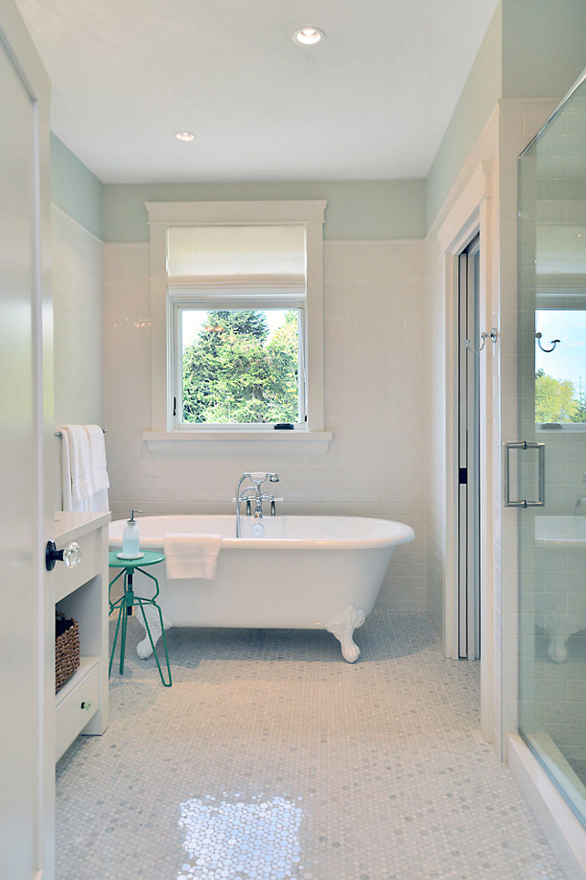 Turquoise Bathroom Paint Color. Sunshine Coast Home Design.