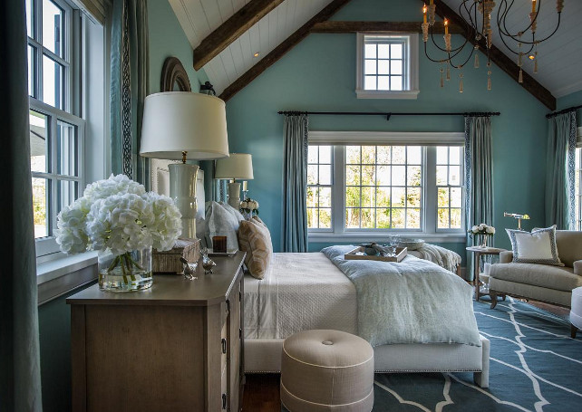 Turquoise Bedroom Decorating Ideas #Bedroom #Turquoise #BedroomDecor #HGTV2015DreamHouse