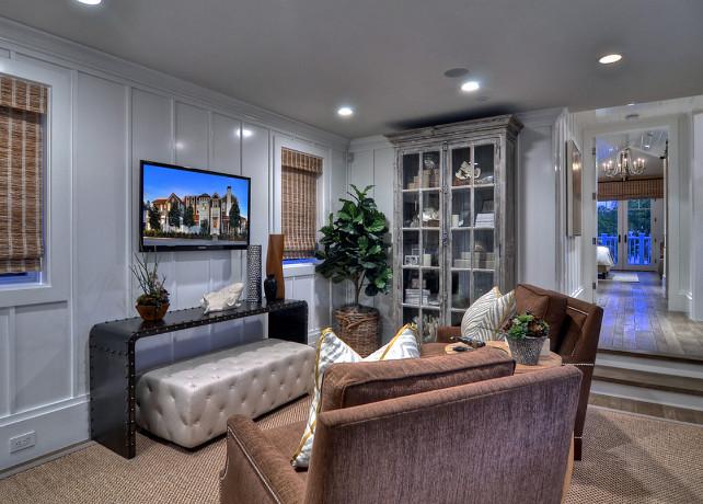 Tv Room Ideas. #TVRoomDesign