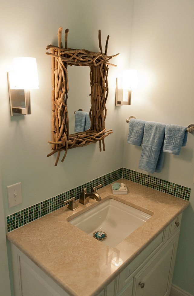 Twig Mirror. #TwigMirror. Twig Bathroom Mirror. Blue Sky Building Company.