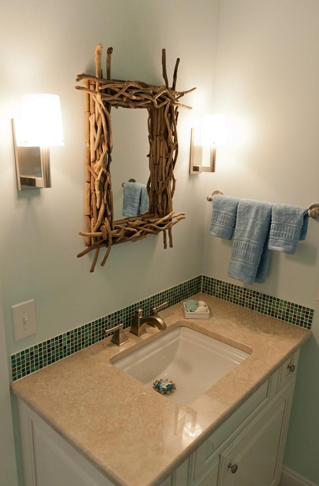 Twig Mirror. #TwigMirror. Twig Bathroom Mirror. Blue Sky Building Company.