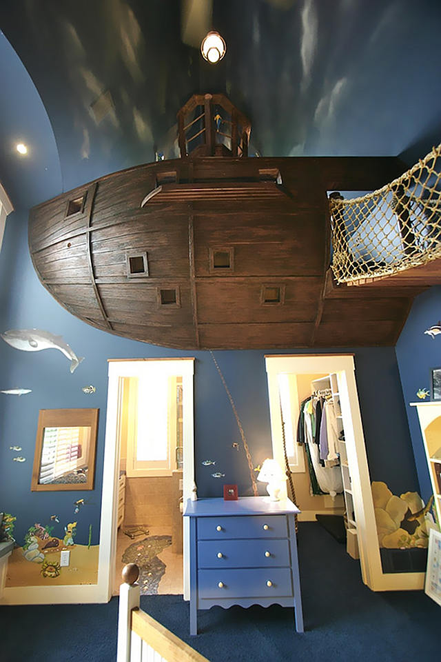 Cool Or Fool Pirate Ship Bedroom Home Bunch Interior Design Ideas