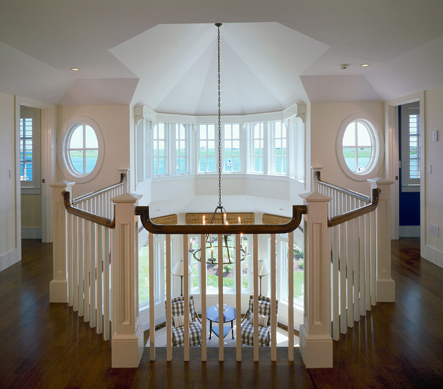 Upstairs Hall. Upstairs Hall Design Ideas. #UpstairsHall Polhemus Savery DaSilva.