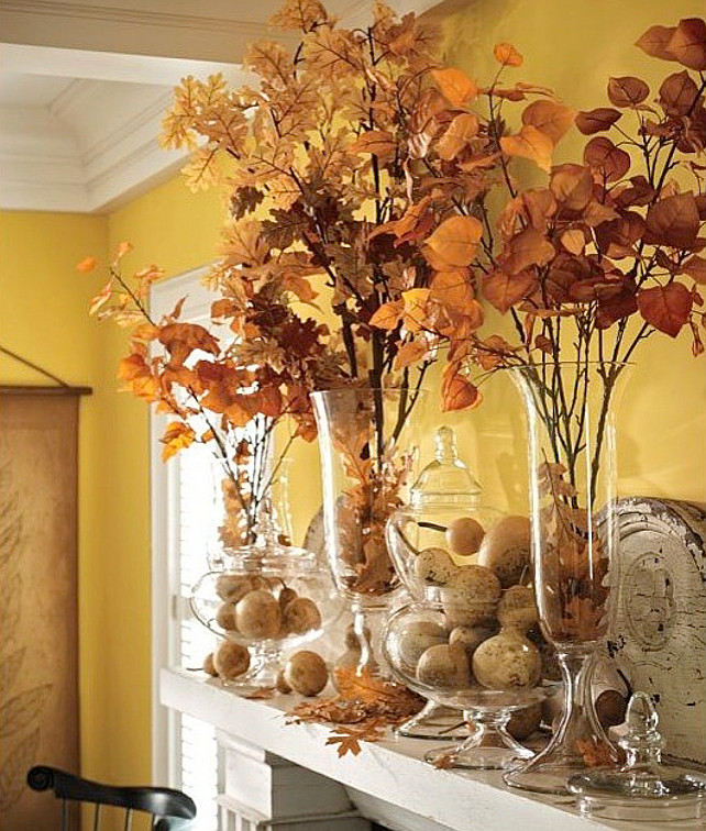 Interior design ideas new fall decor ideas home bunch - Fall decorations for home ...