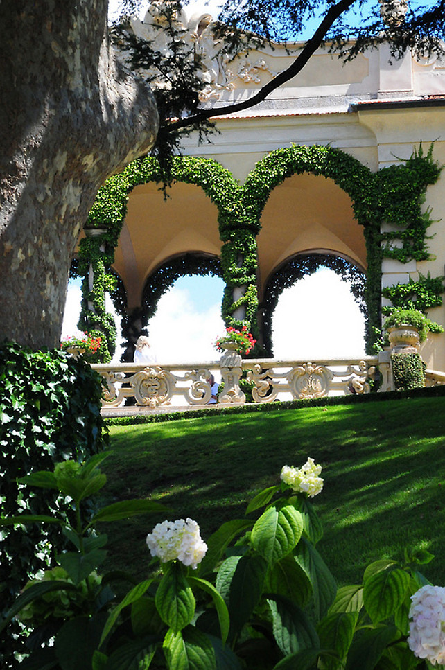 Gardens and Architecture. #Gardens