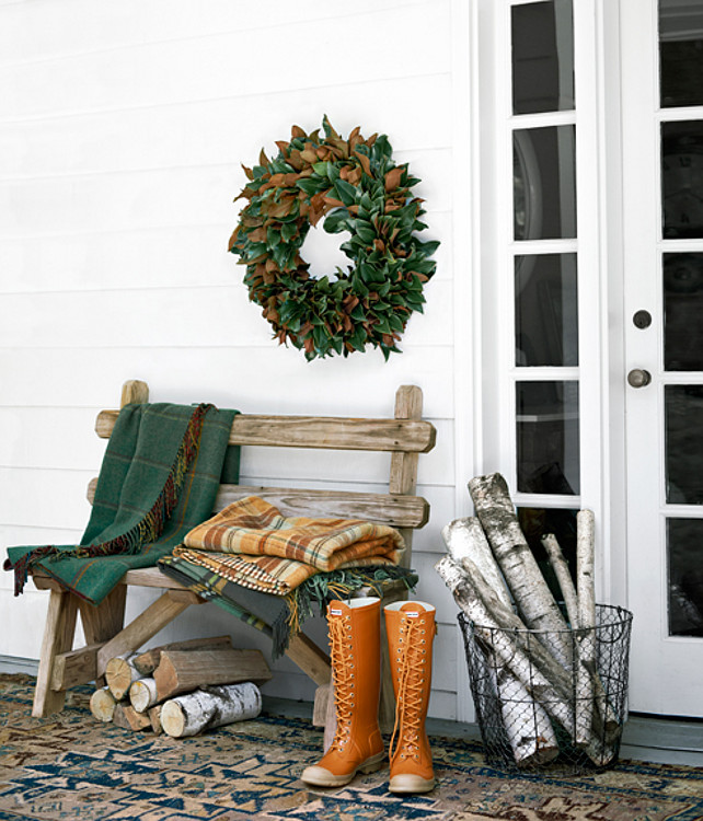 Easy thanksgiving decorating ideas home bunch interior for Simple outdoor decorating ideas