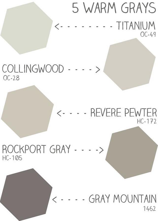 Warm Gray Paint Color Ideas Benjamin Moore Oc 49 Anium Benjaminmoore