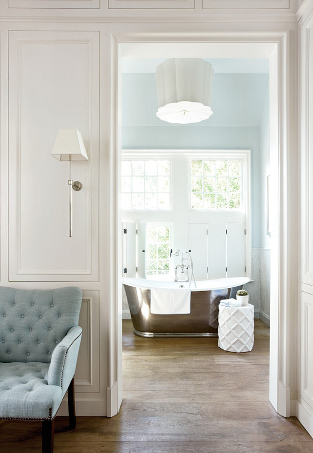 Waterworks Bathtub. Bathroom Bathtub Ideas. The bathtub in this bathroom is by Waterworks. Peter Block Architects and Interior Designer, Beth Webb Interiors.