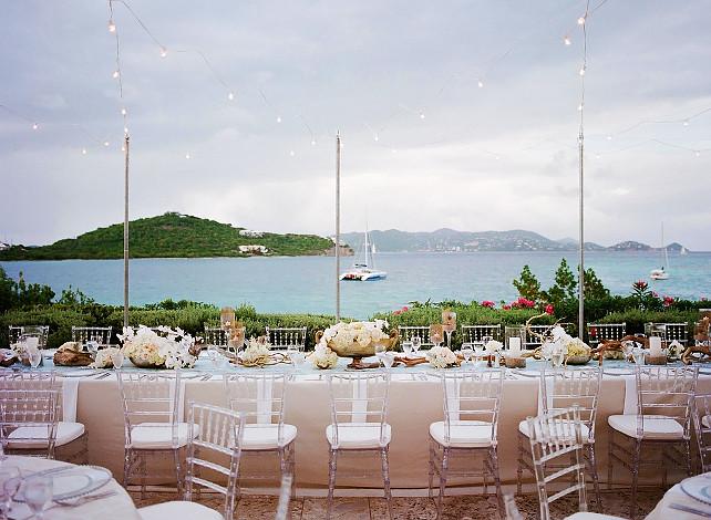 Wedding Party Decor Ideas Style Me Pretty via Nicety.