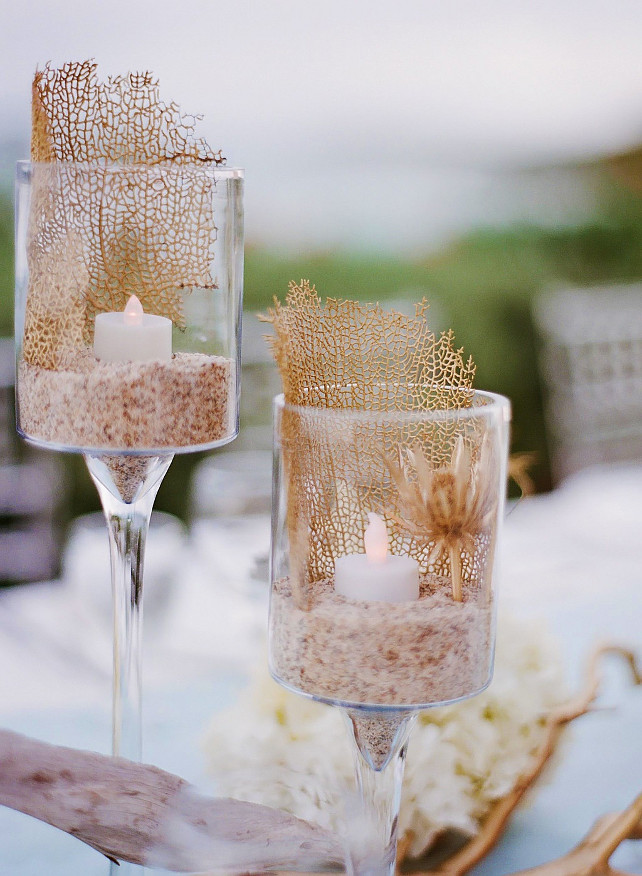 Wedding Table Decorating Ideas Style Me Pretty via Nicety