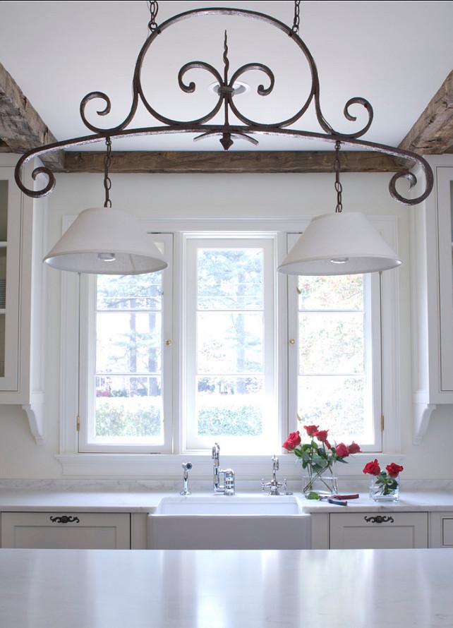Kitchen Lighting. White Kitchen Ideas. White Kitchen Design #WhiteKitchen #Kitchen #WhiteKitchenPaintColor Bradley E Heppner Architecture, LLC.