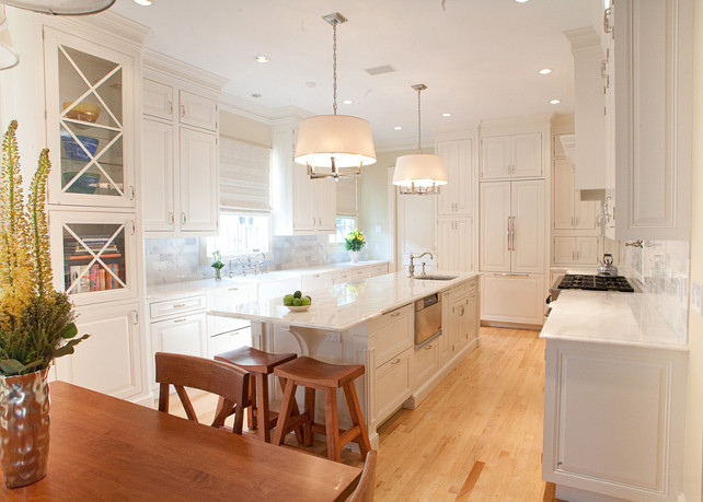 White Kitchen #WhiteKitchen