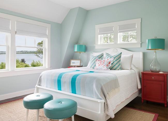 Rhode Island Beach Cottage With Coastal Interiors Home