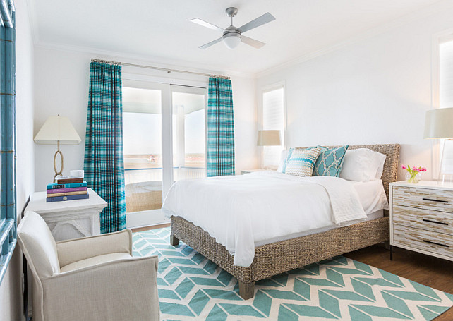 White and turquoise Bedroom. White and turquoise Bedroom Ideas. White and turquoise Bedroom Decor. White and turquoise Bedroom. #White #turquoise #Bedroom Laura U, Inc.