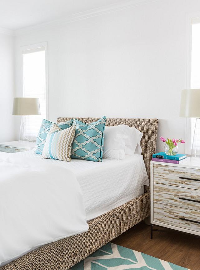 Wicker bed. Wicker bed ideas. Wicker bed. #Wickerbed Laura U, Inc.