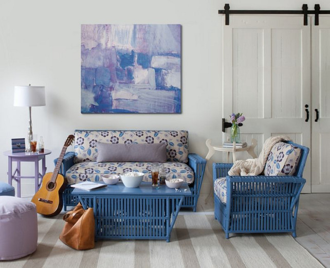 Beautiful Wicker Furniture: Not Just for Patios! - Home Bunch ...