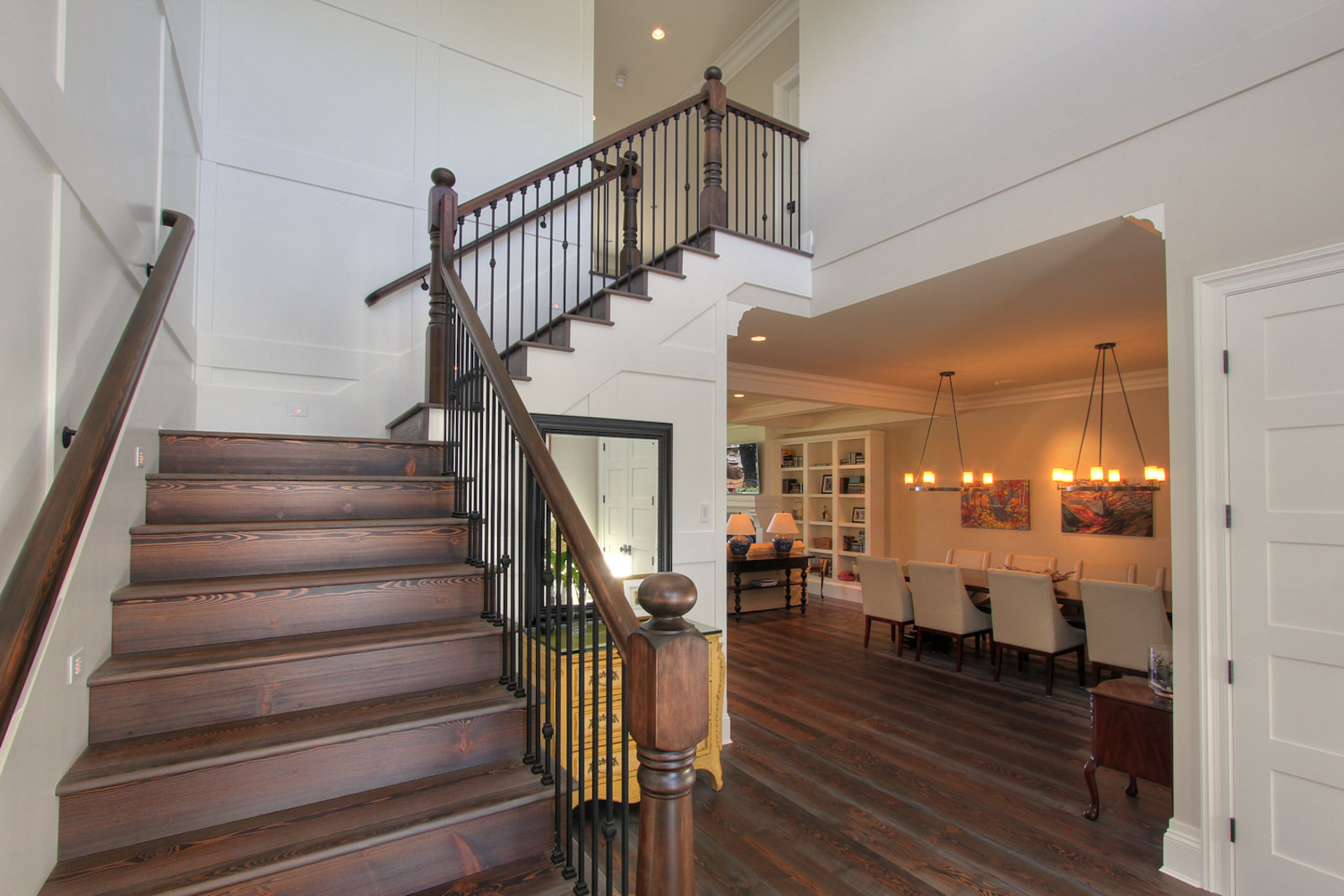 Foyer Stairs Quote : Lakehouse home bunch interior design ideas