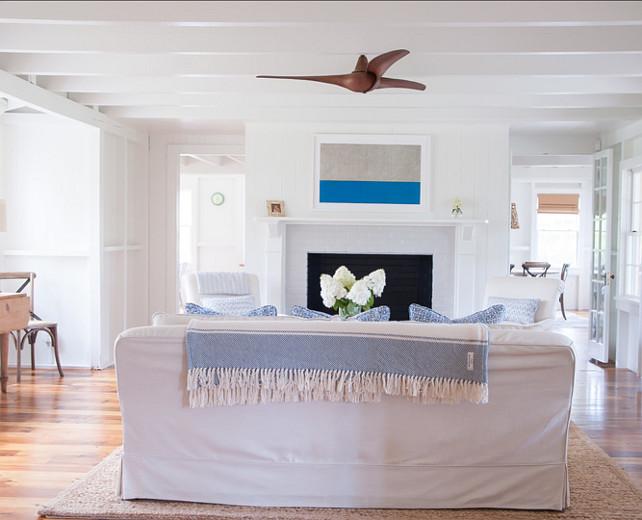 LivingRoom Design. This is a very casual, coastal living room. I love the design and decor. #LivingRoom #LivingRoomDesign #LivingRoomDecor