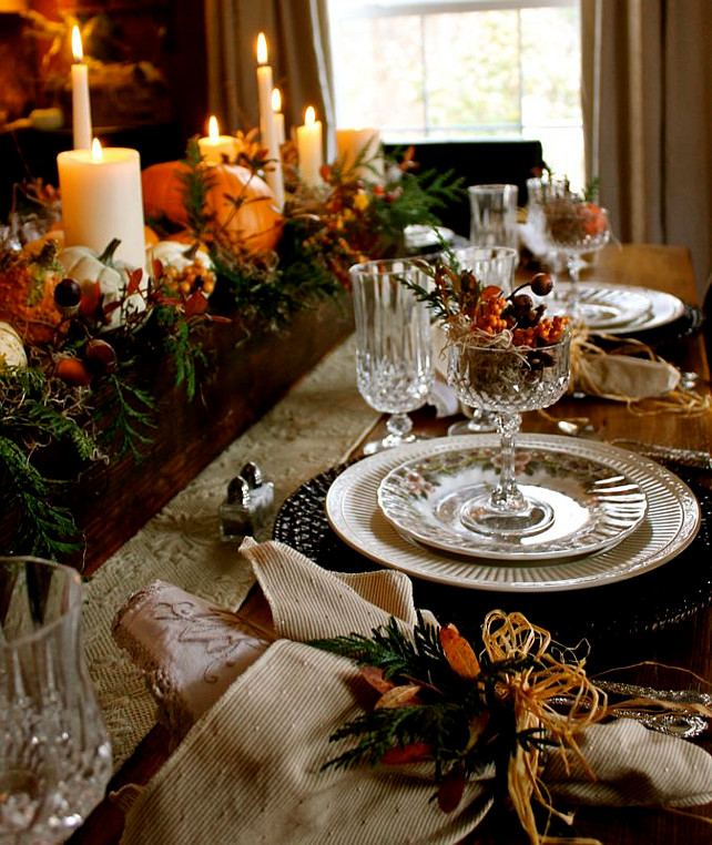 Thanksgiving Decor Ideas: Easy Thanksgiving Decorating Ideas