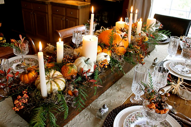 Thanksgiving Table Setting Ideas easy thanksgiving decorating ideas - home bunch – interior design