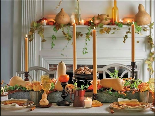 Thanksgiving decorating ideas home bunch interior design How to decorate your house for thanksgiving