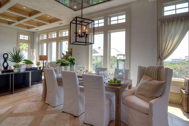 Florida dream home baby news home bunch interior for Great room lighting high ceilings