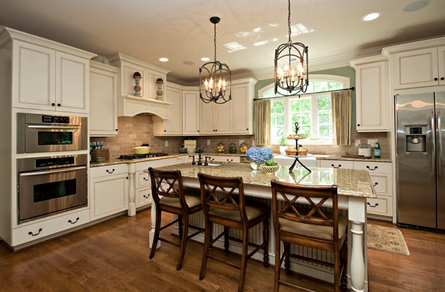 Antique White Kitchen Ideas off white kitchen cabinets pictures.