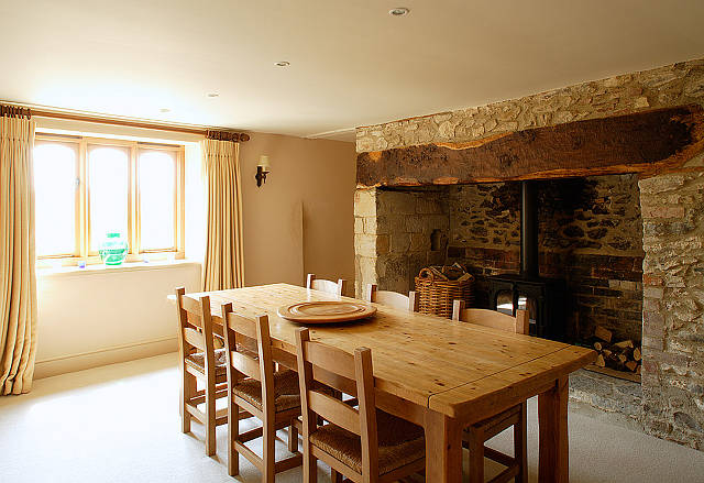 Homemade Food Tastes Even Better In A Rustic Dining Setting Such As This One