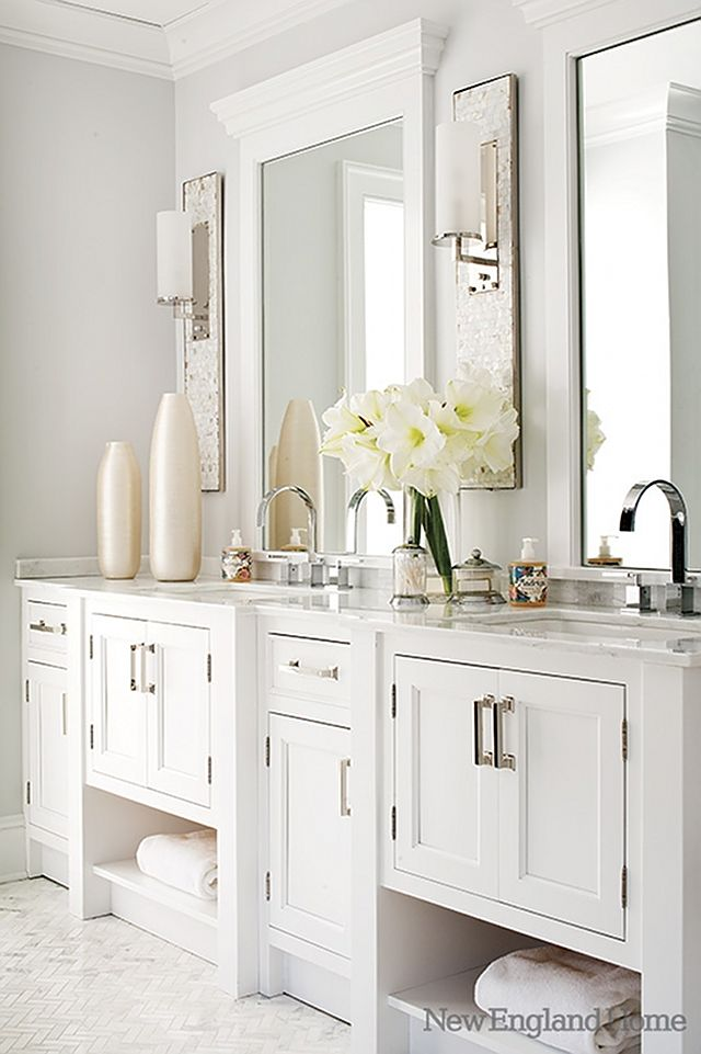 The Gorgeous Marble Finishing In This Bathroom Including The Floors