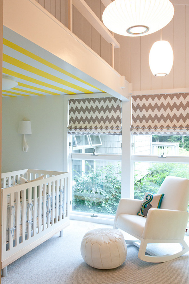 Nursery Ideas. Cute Nursery Design. #Nursery