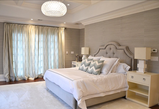 Grey Bedroom. Beautiful ideas for grey bedroom. #Bedroom #Grey #Interiors