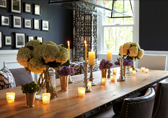 dining room table decorating ideas. Inspiring dining room table decorating ideas #DinnigRoom #TableDecorating