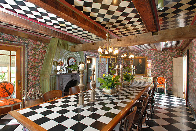 Cool Or Fool The Mackenzie Childs Estate Home Bunch Interior Design Ideas