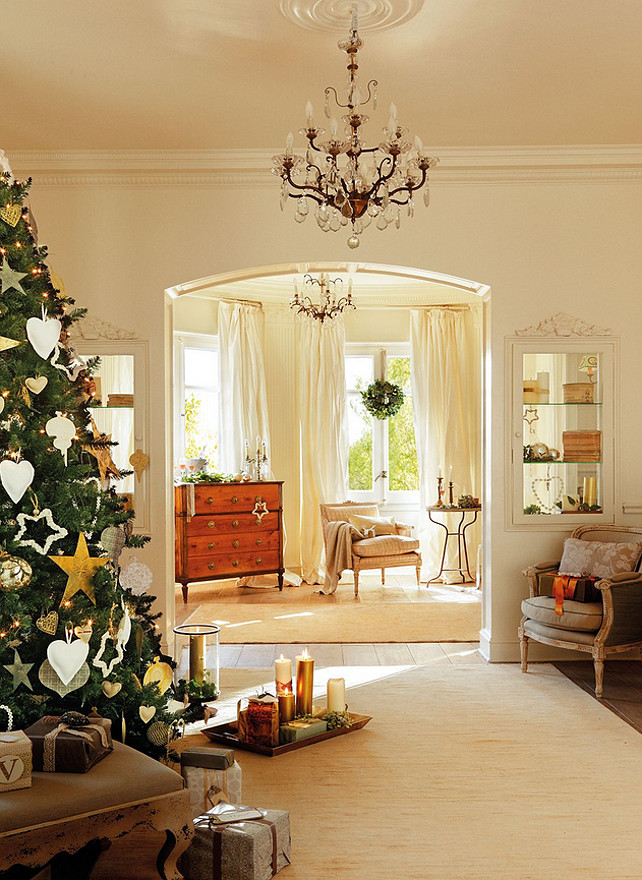Interior design ideas christmas design ideas home bunch for Christmas home design