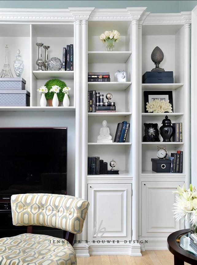 Living Room Bookshelf Ideas: Home Bunch Interior Design Ideas