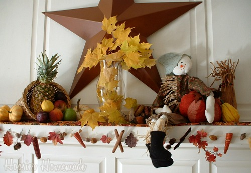 Thanksgiving decorating ideas home bunch interior design for Homemade thanksgiving decorations for the home