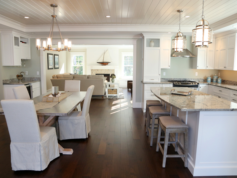 kitchen dining family room design. Kitchen Family Room eco friendly cottage  home bunch interior design ideas Endearing 40 Inspiration Of