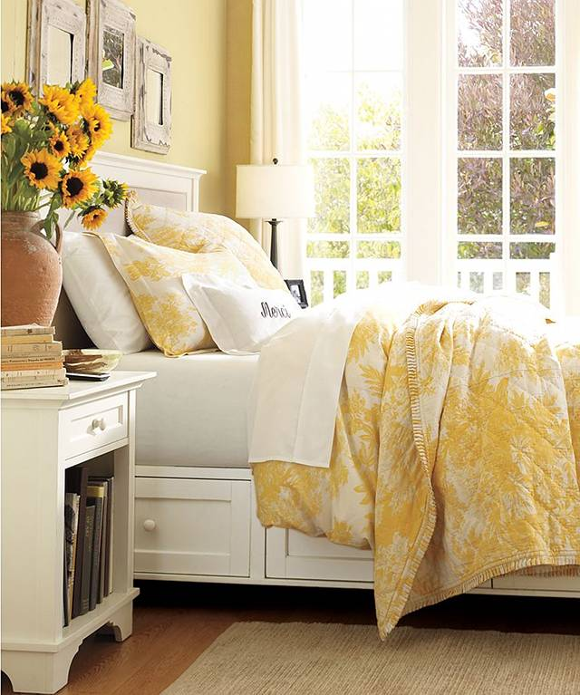Beautiful bedrooms beds home bunch interior design ideas for Bright yellow bedroom ideas