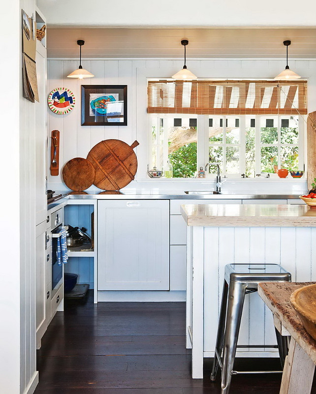 New zealand beach cottage home bunch interior design ideas for Cute small kitchen ideas