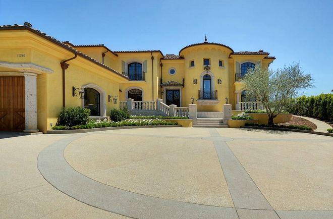 Celebrity house bel air