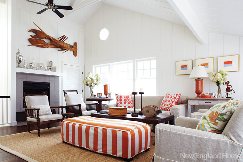New england beach home interiors Home room ideas