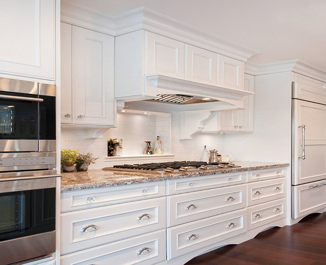 Benjamin Moore Oxford White Kitchen Cabinets