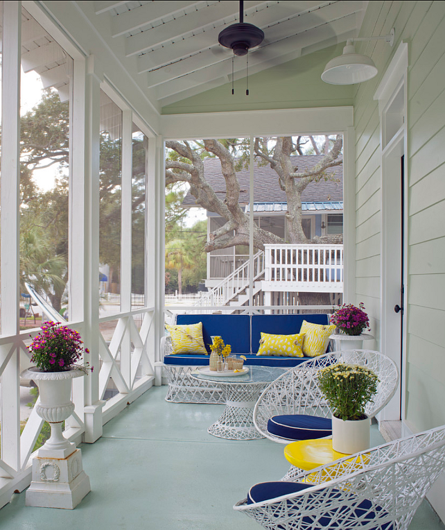 Coastal cottage home bunch interior design ideas Cottage porch decorating ideas
