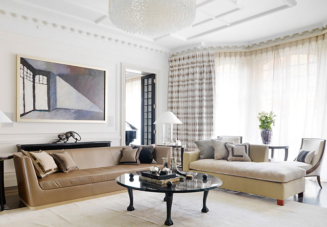 French furniture by oficina inglesa home bunch interior for Modern sitting rooms designs