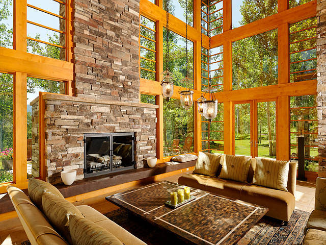 Aspen dream home home bunch interior design ideas for Aspen style home designs