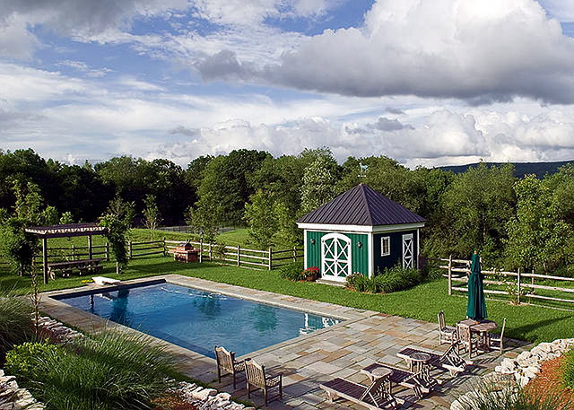 Guest House Pool Houses: Home Bunch Interior Design Ideas